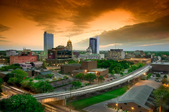 image of the Fort Wayne cityscape